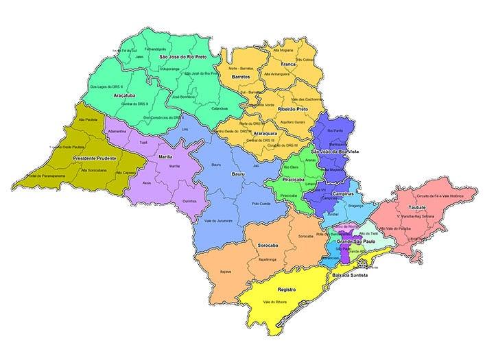 Planos de saúde no interior de SP - Por cidades