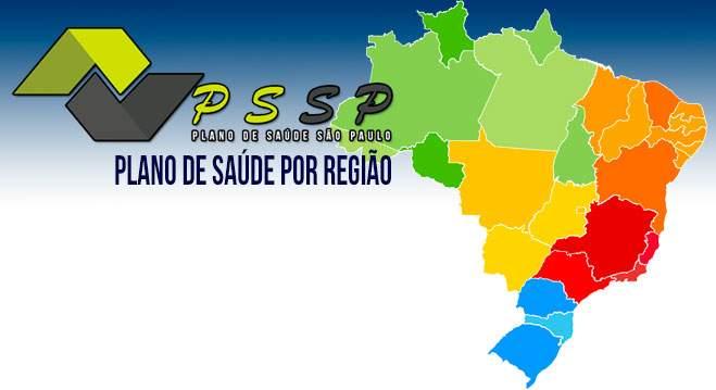 Plano de Saúde por Região