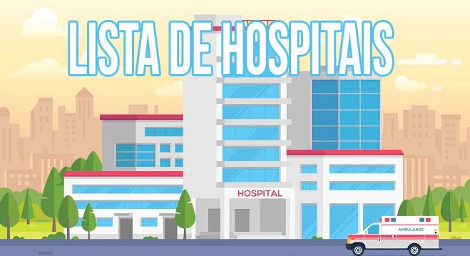 Lista de Hospitais no Brasil