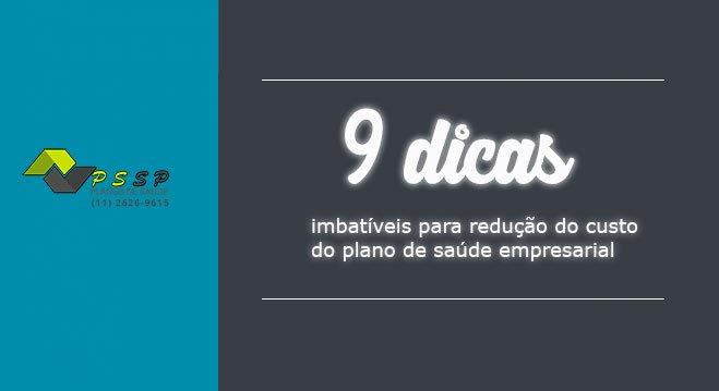 9 dicas para reduzir custo do plano de saúde empresarial