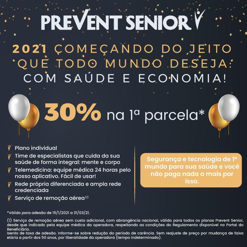 Prevent Senior 30% de desconto